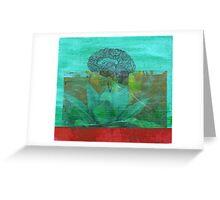 cerebral agave Greeting Card