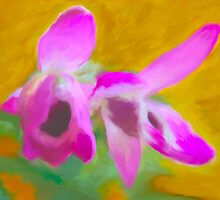 Fauvist Orchid  by imagerially