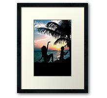 Dance into the Sun Framed Print
