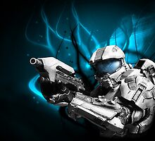 Master Chief - Arctic Style by The5thHorseman