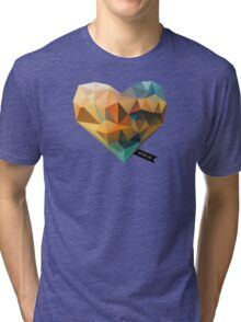 Vector Love 03 Tri-blend T-Shirt