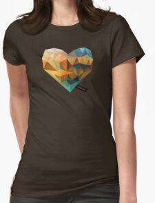 Vector Love 03 Womens Fitted T-Shirt