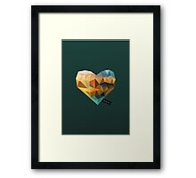 Vector Love 03 Framed Print