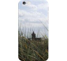 Church through the dunes iPhone Case/Skin