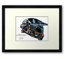Halo - Remembrance  Framed Print