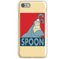 "The Tick SPOON- ""Hope"" Poster Parody iPhone Case/Skin"