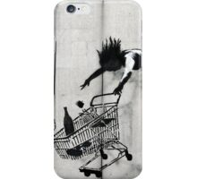Shopping Trolley Girl iPhone Case/Skin