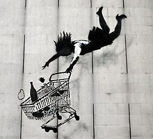 Shopping Trolley Girl by Respire