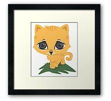 Tabby Kitten Framed Print