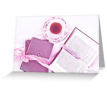 Tea with Twain Greeting Card