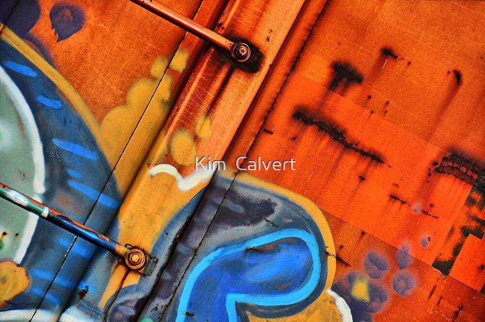 Train Art by Kim  Calvert