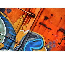 Train Art Photographic Print