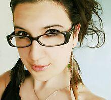 New Glasses :) by SheisScarlett