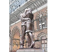 St Pancras : Meeting Place Photographic Print