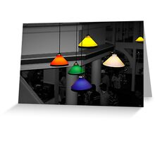Colorful Lights Greeting Card