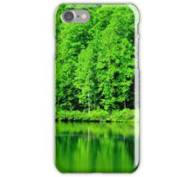 Fishing on Chris Green Lake    ^ iPhone Case/Skin