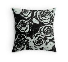 Succulent Stamp  Throw Pillow