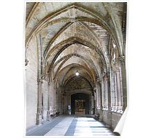Gothic Arches, Burgos, Spain Poster