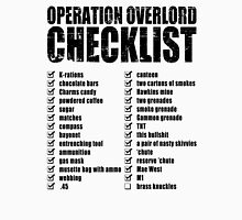 Operation Overlord Checklist T-Shirt