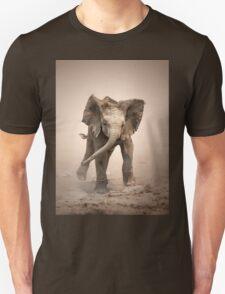Elephant Calf mock charging T-Shirt