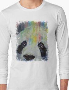 Panda Rainbow Long Sleeve T-Shirt