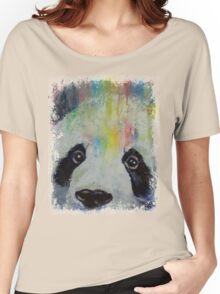 Panda Rainbow Women's Relaxed Fit T-Shirt