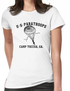 Camp Toccoa PT Shirt Womens Fitted T-Shirt