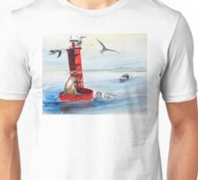 Permission to Come Aboard? Buoys will be buoys... Unisex T-Shirt