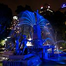 VIVID - Arhcibald Memorial Fountain by Jason Ruth