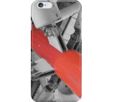 Red Strut iPhone Case/Skin