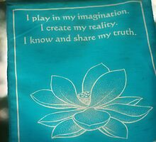 Imagination Affirmation by Aimee Stewart