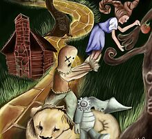 The Wizard of Oz by bubbleboy12