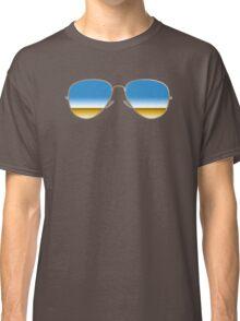 Mirrored Sunglasses Classic T-Shirt