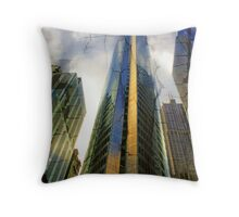 Chicago Tall Building Throw Pillow
