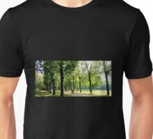 Cycling away Unisex T-Shirt