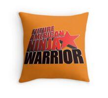 FUTURE American Ninja Warrior Throw Pillow