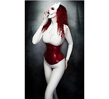 White Catwoman - Wash Photographic Print
