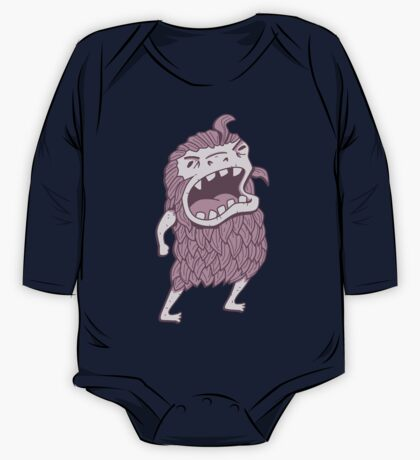 Sasquatch knows his manners Kids Clothes