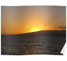 Hawaiian Sunset Poster