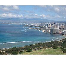 Honolulu Skyline Photographic Print