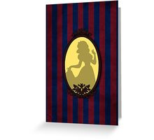 Vintage Snow White Greeting Card