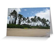 Ocean-Front Property Greeting Card