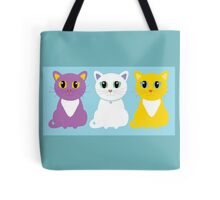 Only Three Cats Tote Bag