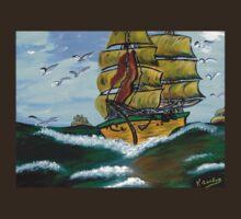 Columbus' Sailing Ships T-Shirt