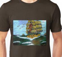 Columbus' Sailing Ships Unisex T-Shirt