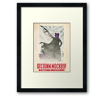 Defend Moscow! Framed Print
