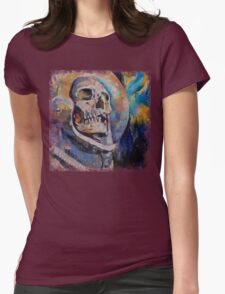 Stardust Astronaut Womens Fitted T-Shirt