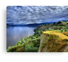 Okanagan Lake on a Thursday Canvas Print