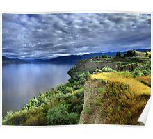 Okanagan Lake on a Thursday Poster