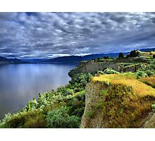 Okanagan Lake on a Thursday Photographic Print
